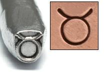 Metal Stamping Tools Taurus Zodiac Design Stamp