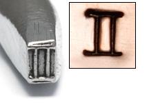Metal Stamping Tools Gemini Zodiac Design Stamp