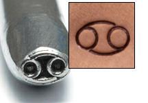 Metal Stamping Tools Cancer Zodiac Design Stamp