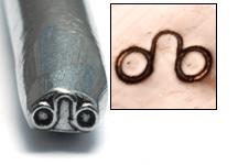 Metal Stamping Tools Leo Zodiac Design Stamp