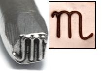 Metal Stamping Tools Scorpio Zodiac Design Stamp