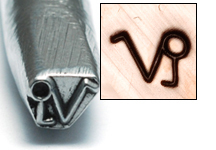 Metal Stamping Tools Capricorn Zodiac Design Stamp