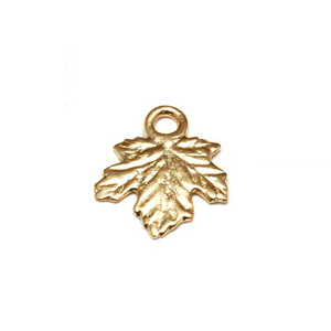 Dregs Gold Filled Tiny Maple Leaf Charms