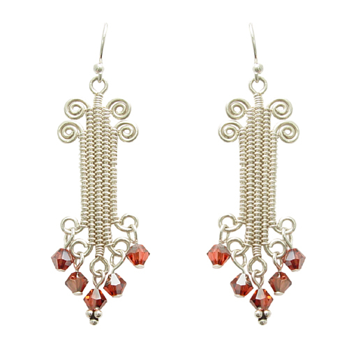 Ionic Column Earrings Online Class with Lisa Claxton