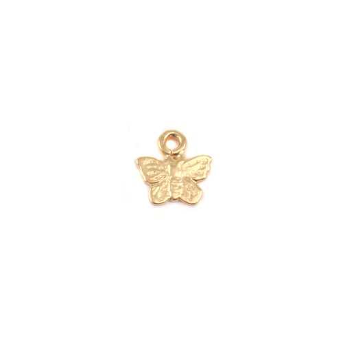 Dregs Gold Filled Tiny Butterfly Charms