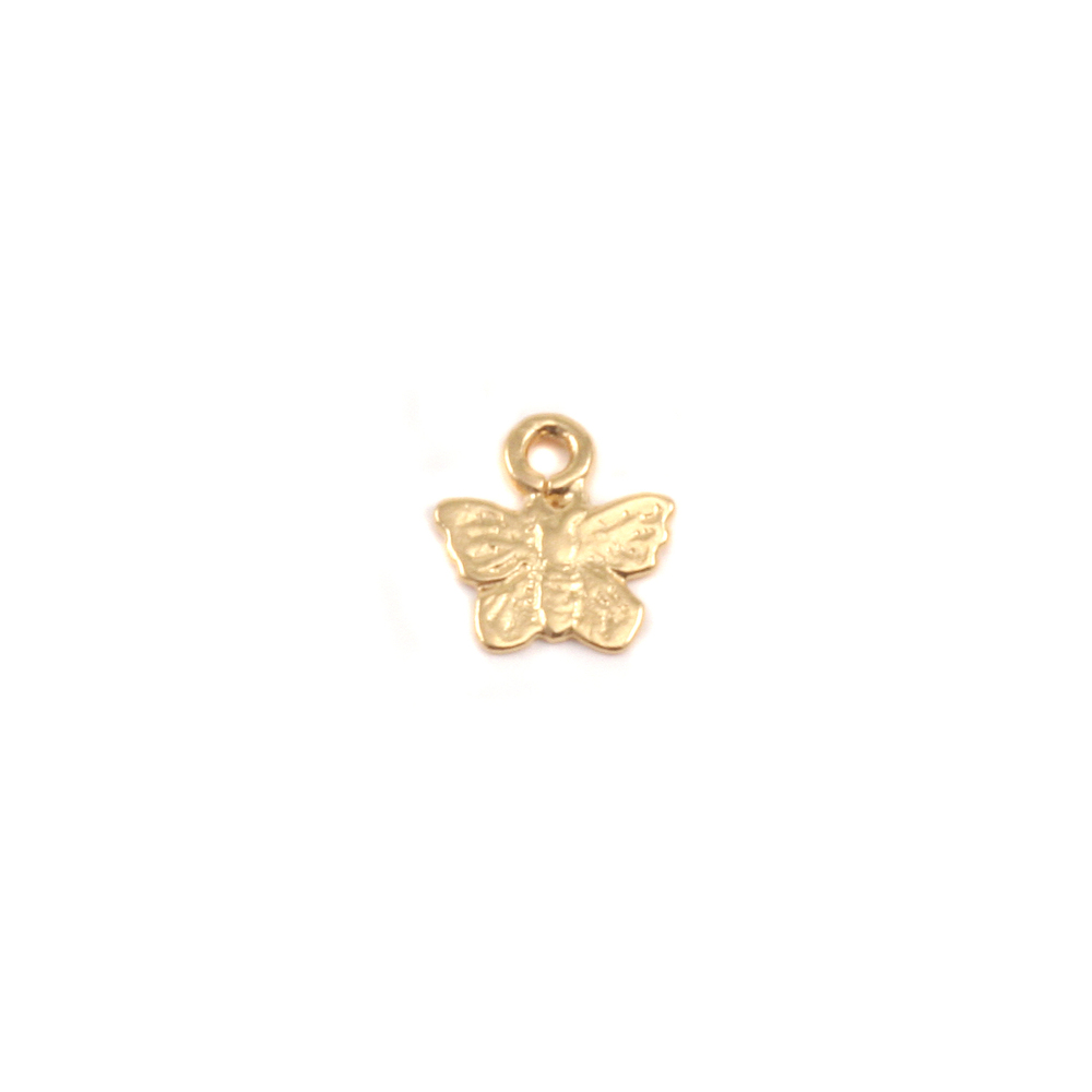 Gold Filled Tiny Butterfly Charms
