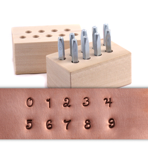"Metal Stamping Tools Beaducation Kismet Number Stamp Set 1/8"" (3.2mm)"