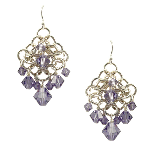 Chainmail Earrings Online Class with Colin Mahler