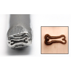 Metal Stamping Tools Dog Bone Design Stamp