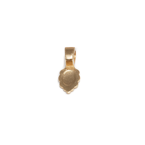 Clasps & Findings Gold Plated Jewelry Bail