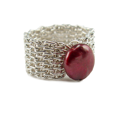 Woven Ring Online Class with Kriss Silva