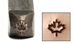 "Metal Stamping Tools Maple Leaf Design Stamp 1/8"" (3.2mm)"