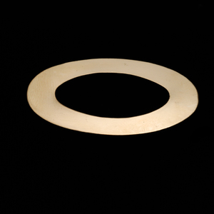 Metal Stamping Blanks Gold Filled Large Oval Washer, 24g