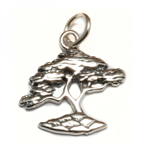 Charms & Solderable Accents Sterling Silver Bonsai Tree Charm