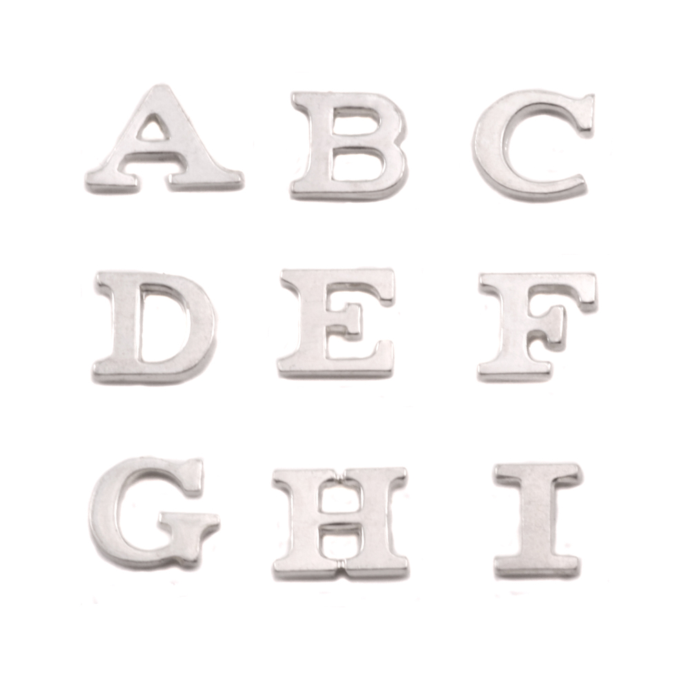 Charms & Solderable Accents Sterling Silver Letter I, 19g