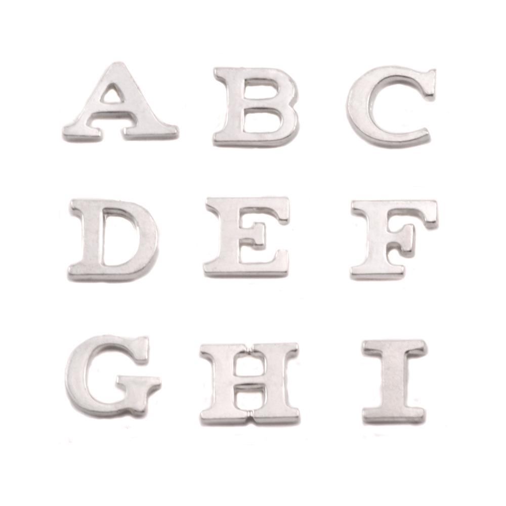 Sterling Silver Letter F, 19g