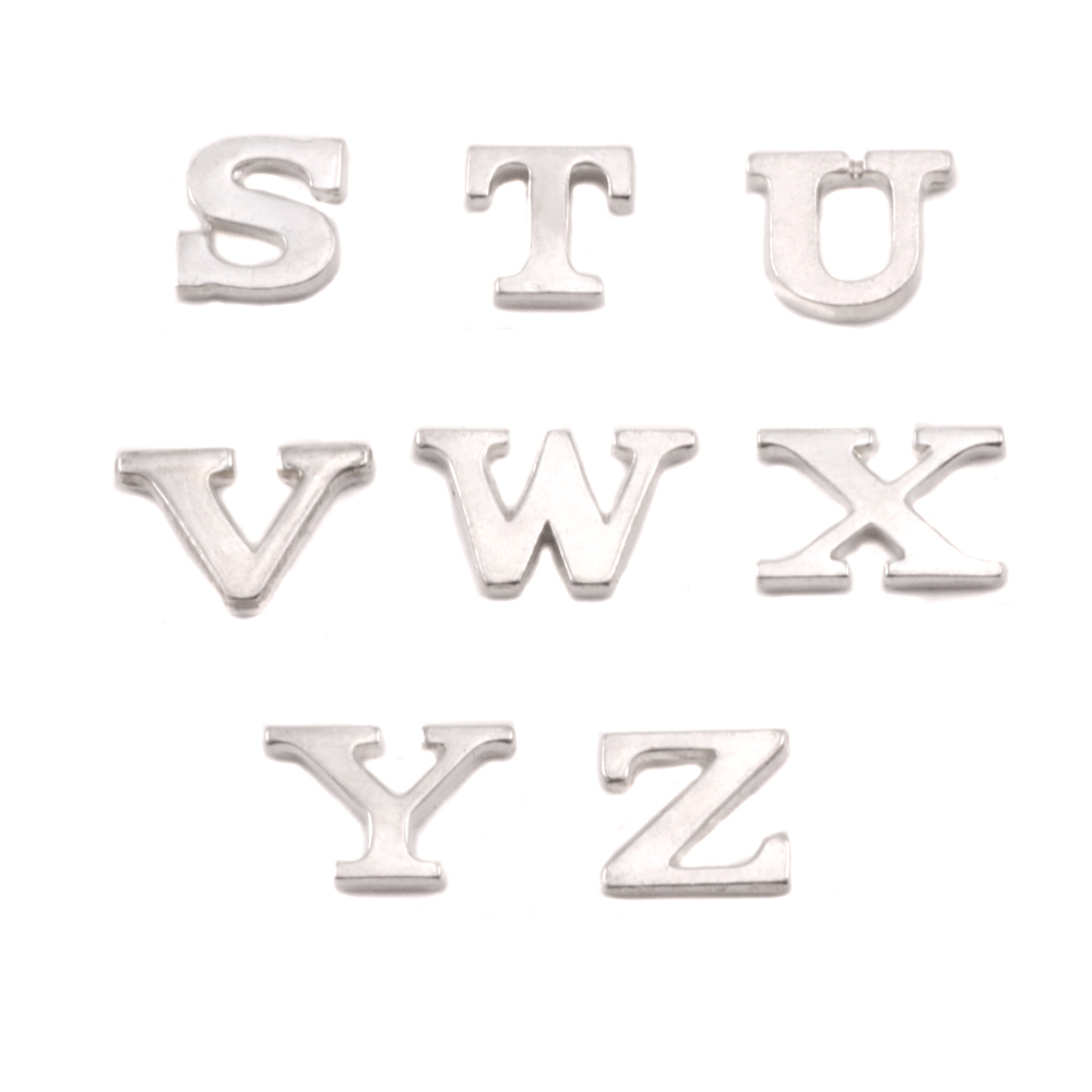 Charms & Solderable Accents Sterling Silver Letter U, 19g
