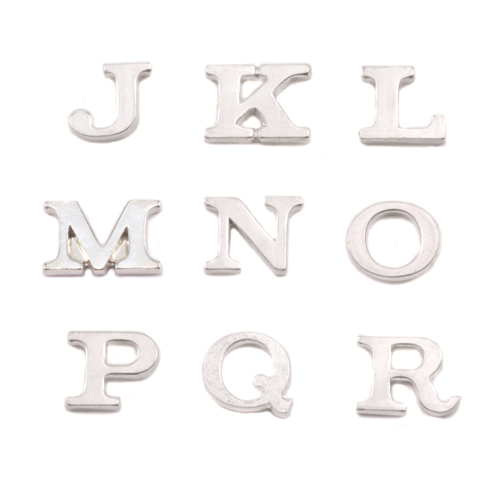 Dregs Sterling Silver Letter M, 19g