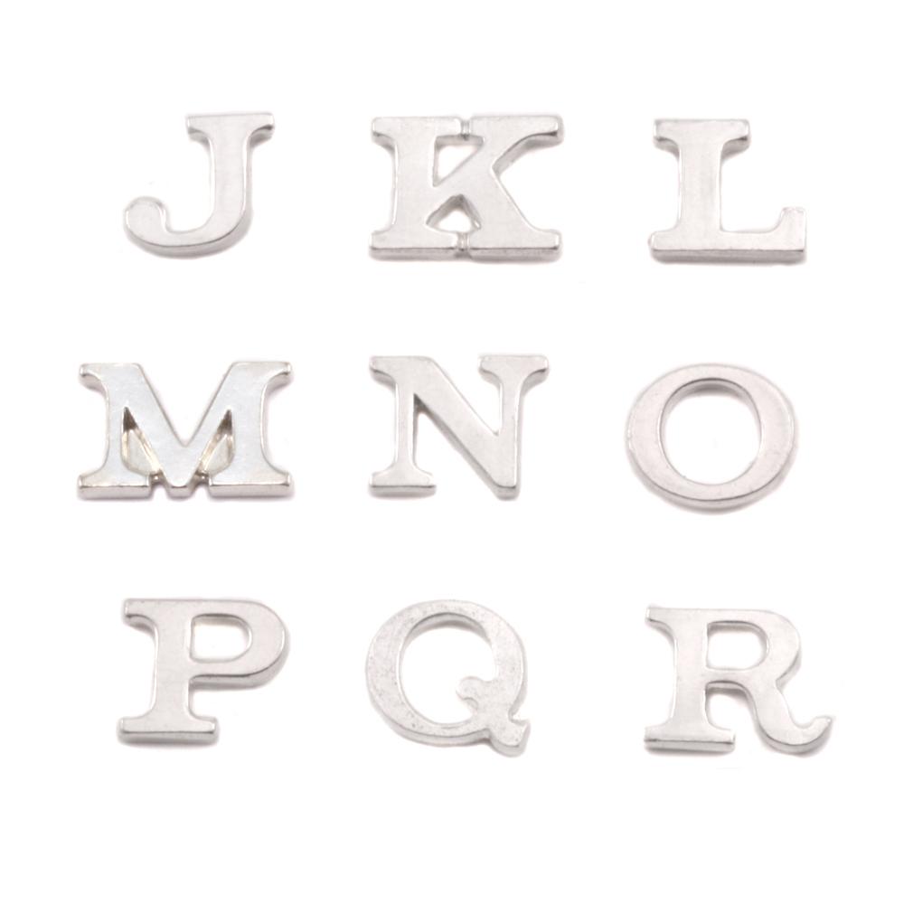 Sterling Silver Letter M, 19g