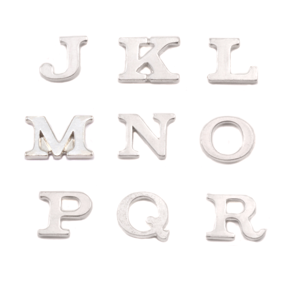 Sterling Silver Letter R, 19g