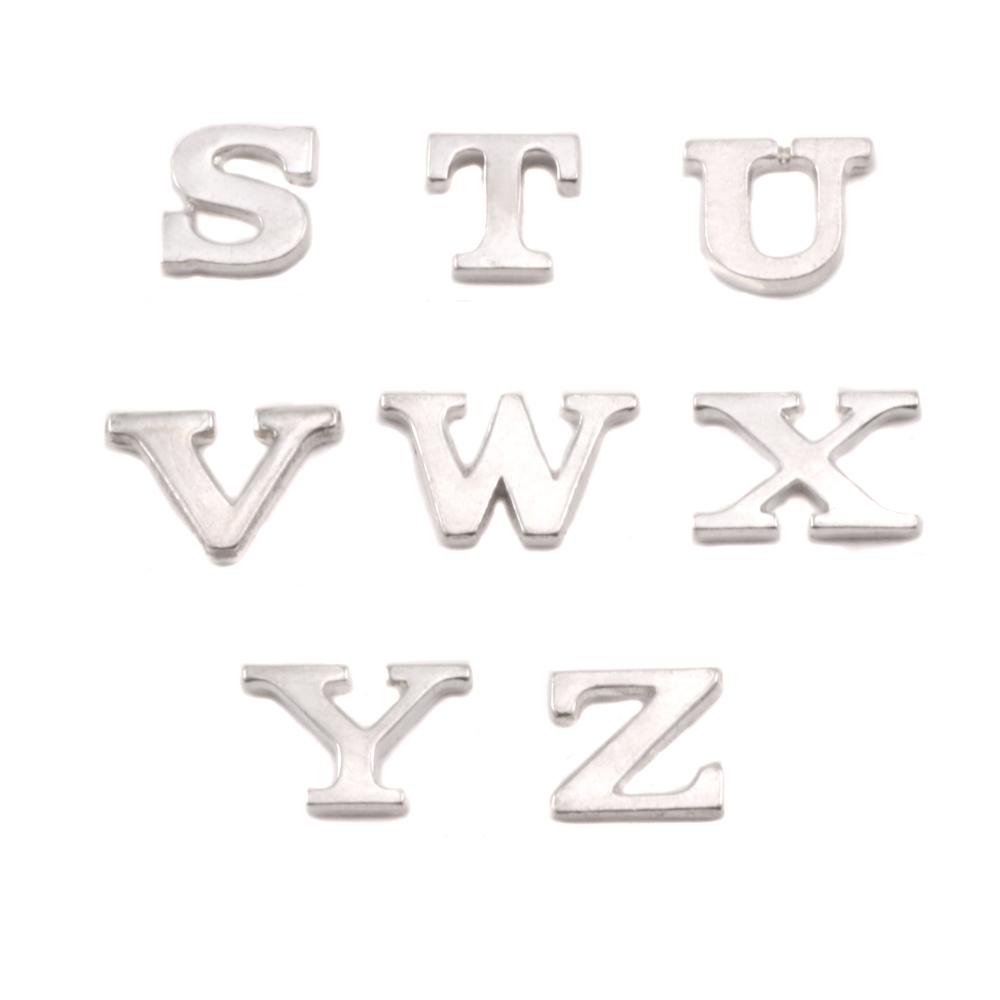 Sterling Silver Letter V, 19g