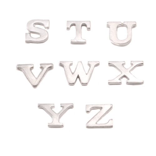 Dregs Sterling Silver Letter X, 19g