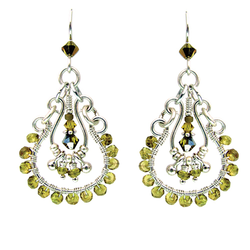 Edison Drop Earrings Online Class with Barb Switzer