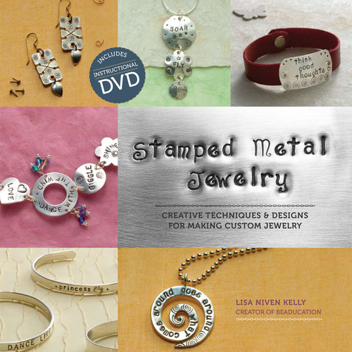 Books Stamped Metal Jewelry Book & DVD by Lisa Niven Kelly
