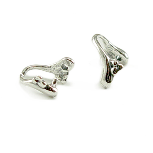 Clasps & Findings Sterling Silver Branch Pinch Bail