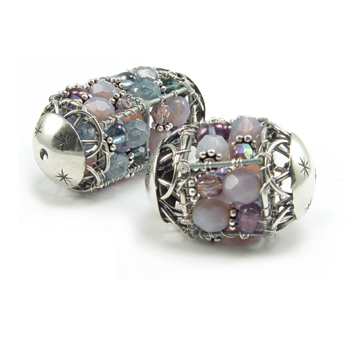 Wire Framed Beads Online Class with Barb Switzer