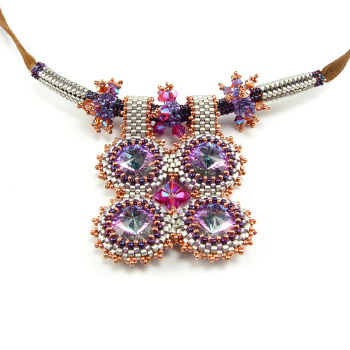 Crystal Squared Necklace Online Class with Laura McCabe