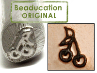 Metal Stamping Tools Cherry Design Stamp - Beaducation Original