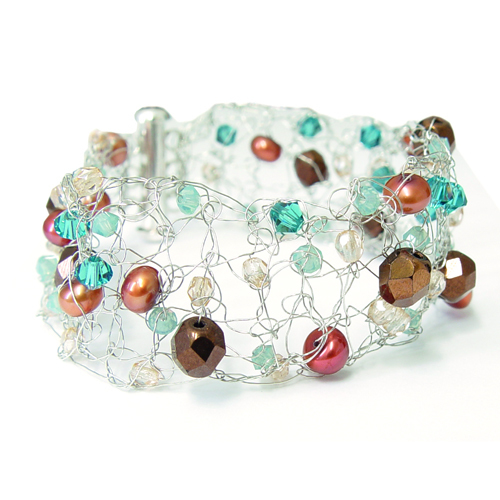 Crochet Bracelet Online Class with Mel McCabe