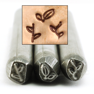 Metal Stamping Tools Branches Set of 3 Design Stamps