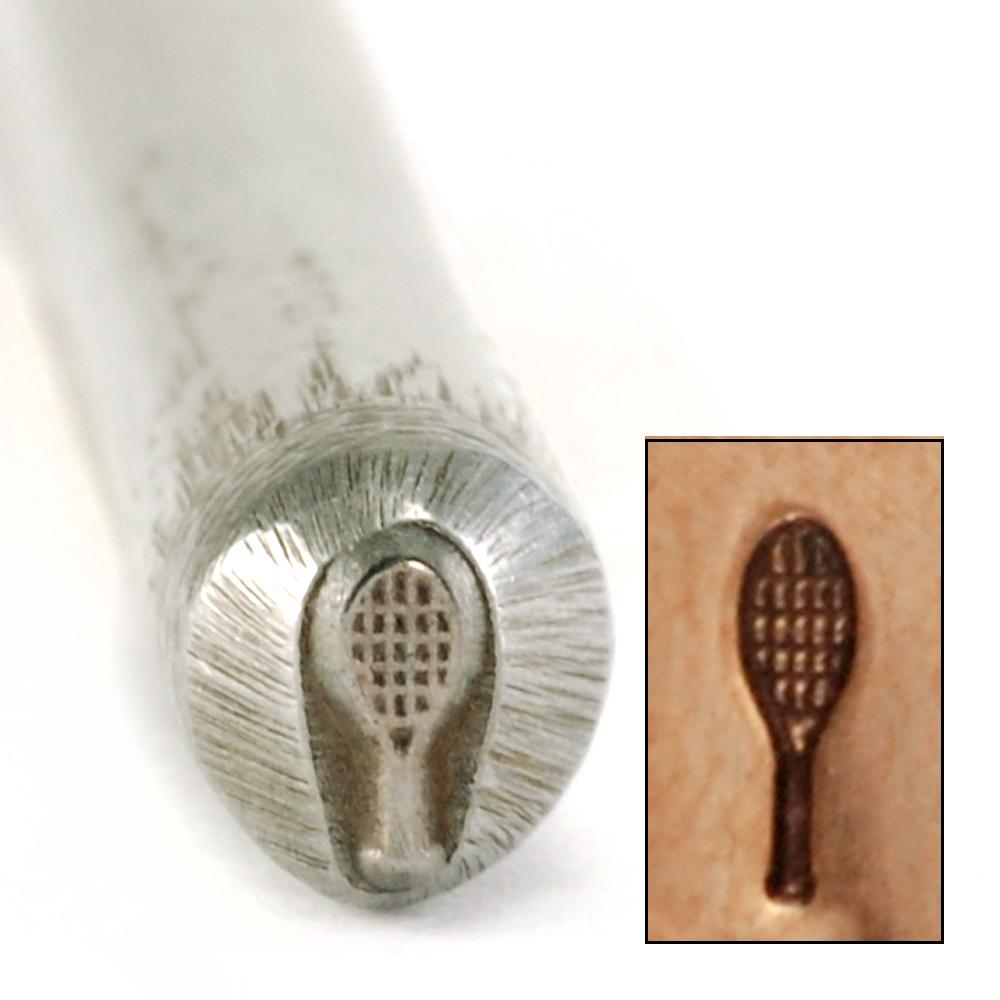 Metal Stamping Tools Tennis Racquet Design Stamp
