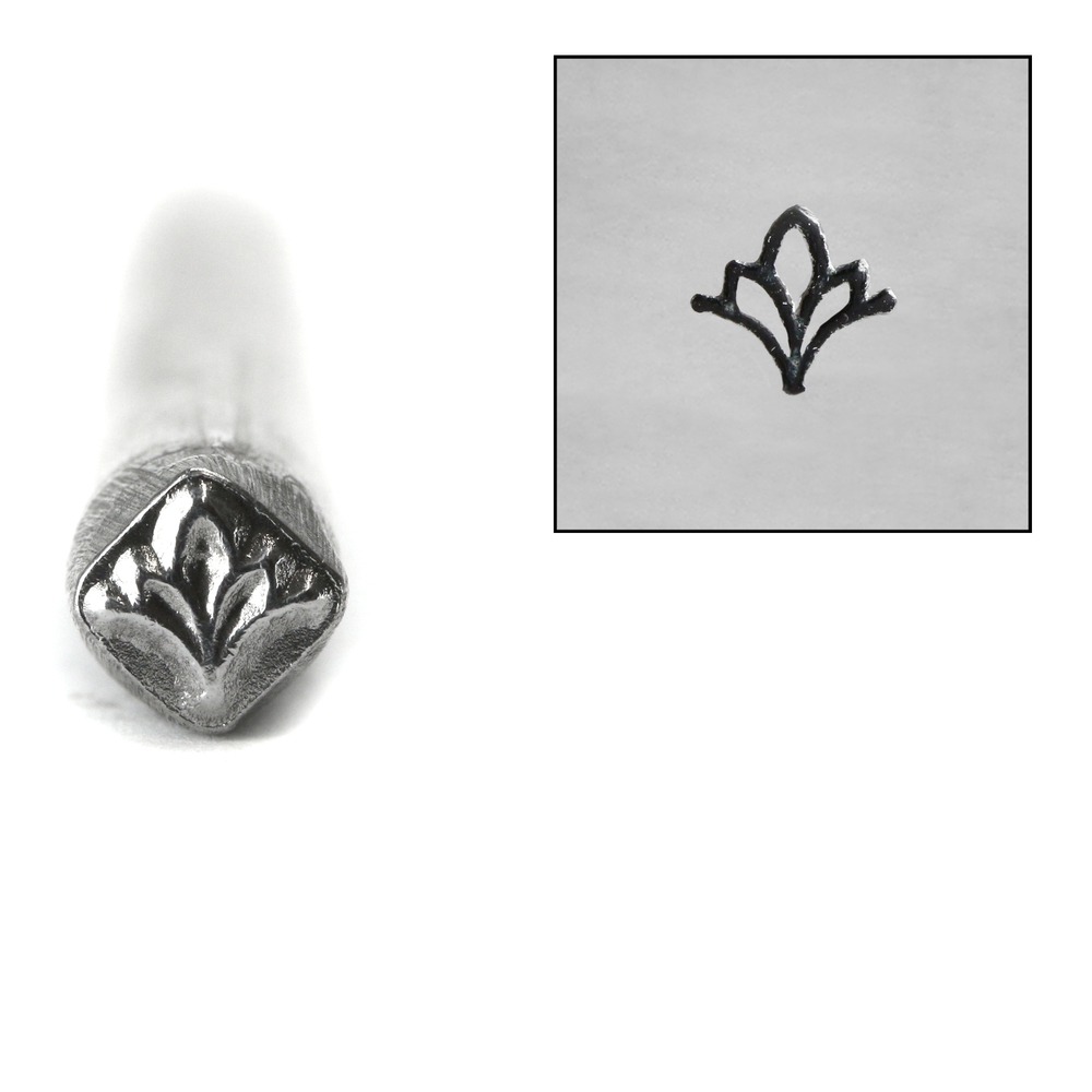 Metal Stamping Tools Deco Flower Metal Design Stamp, 5mm