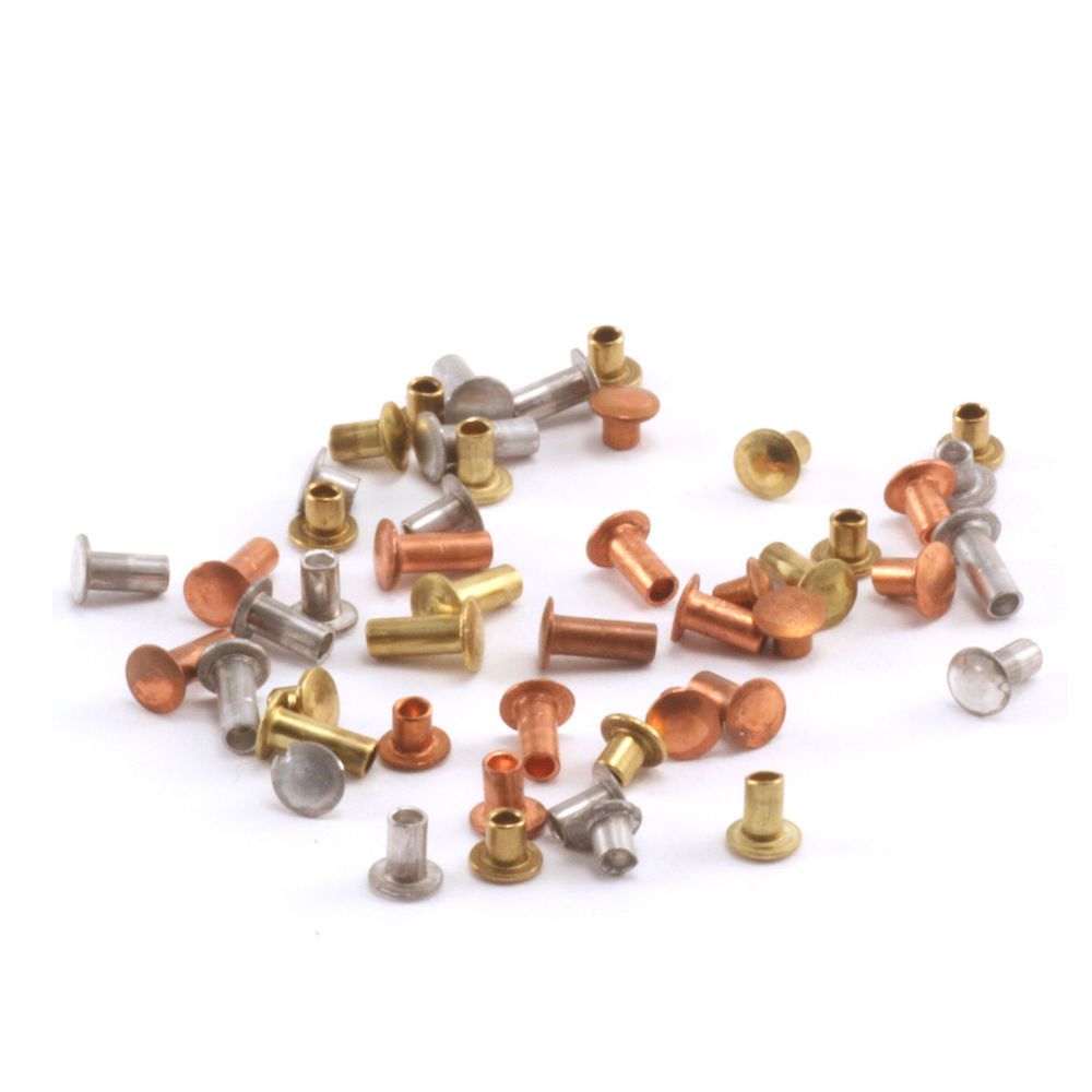 "Rivets,  Findings & Stringing Hollow 1/16"" Rivet Sample Pack"