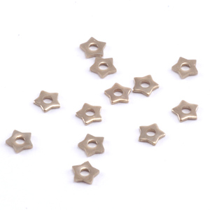 Rivets,  Findings & Stringing Star Nickel Silver Rivet Accents