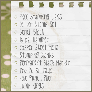 Metal Stamping Blanks Beginning Stamping Checklist