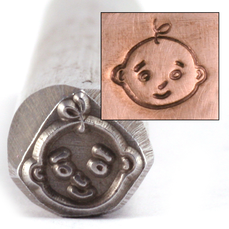 Metal Stamping Tools Baby Head Design Stamp