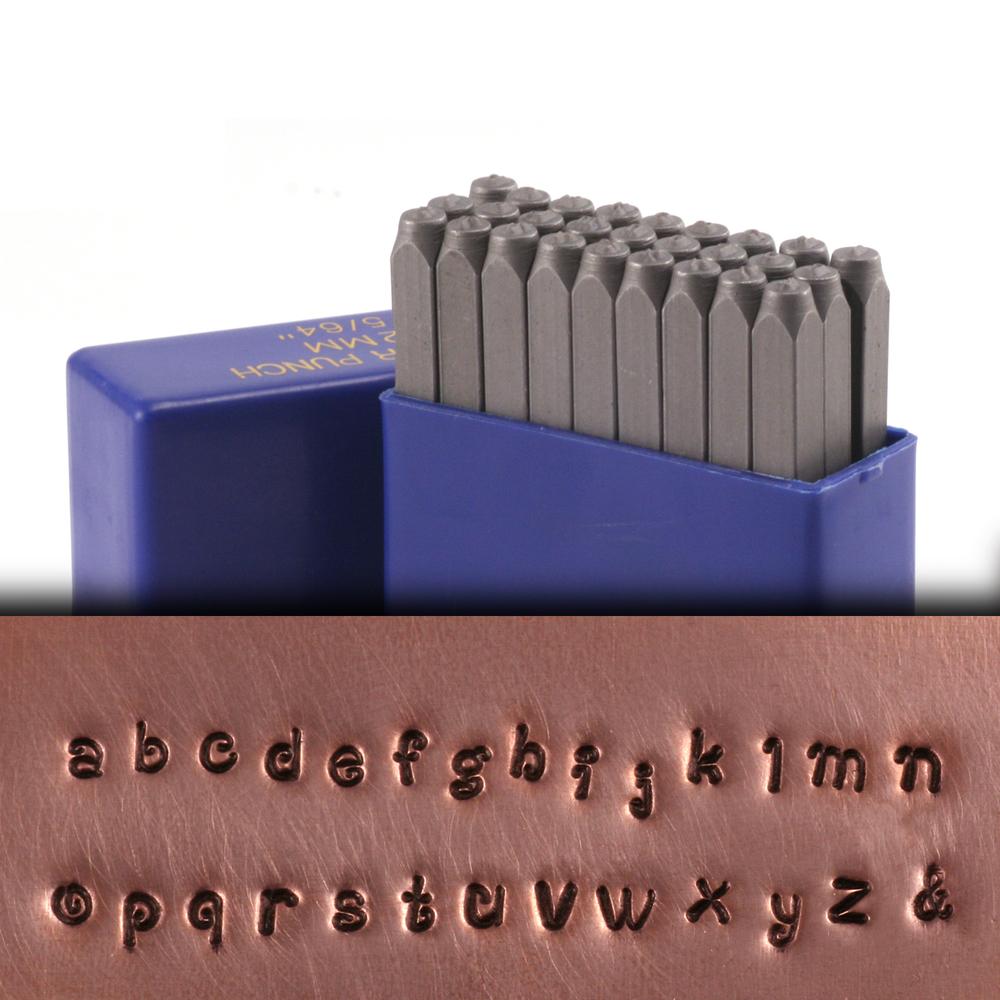 "Metal Stamping Tools Tiny Dancer Lowercase Letter Stamp Set 5/64"" (2mm)"