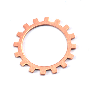 "Metal Stamping Blanks Copper Open Cog, 19mm (.75""), 24g"