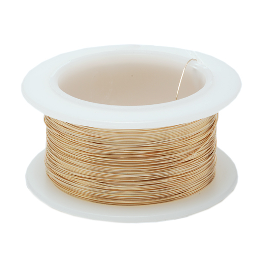 Wire & Sheet Metal 30g Gold Colored Wire