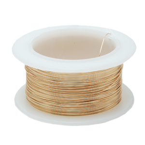 Wire & Metal Tubing 30g Gold Colored Wire