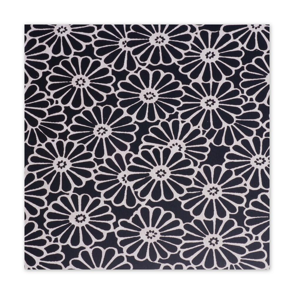 "Anodized Aluminum Sheet, 3"" X 3"", 22g, Design B - BLACK"
