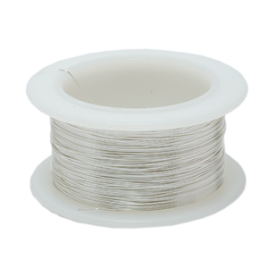 Wire & Metal Tubing 30g Silver Colored wire