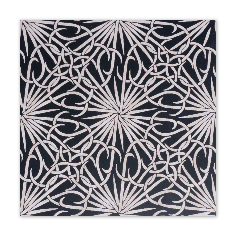 "Anodized Aluminum Sheet, 3"" X 3"", 22g, Design R - BLACK"