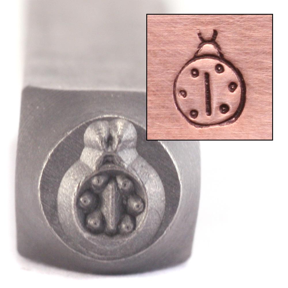 Metal Stamping Tools ImpressArt Lady Bug Design Stamp