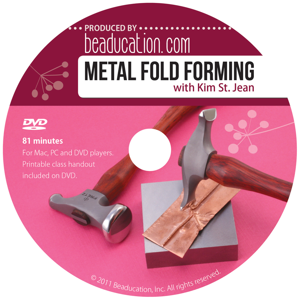 Metal Fold Forming DVD with Kim St. Jean