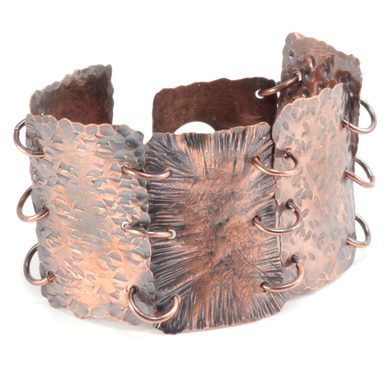Hammered Textured Metal Online Class with Kim St. Jean